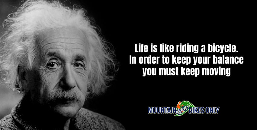 Albert Einstein quotes on cycling