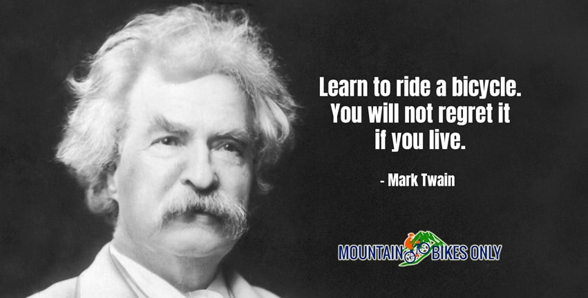 Mark Twain Cycling Quotes