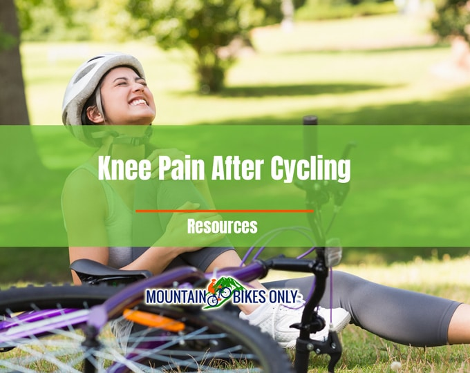 knee pain after cycling