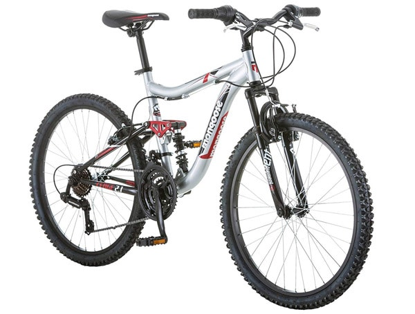 24 Mongoose Ledge 2.1 Boys Mountain Bike
