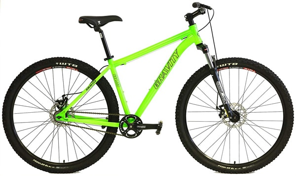 Gravity G29 FS 29er Single Speed Mountain Bike