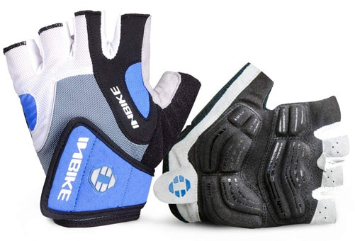 Inbike 5mm gel pad mtb gloves