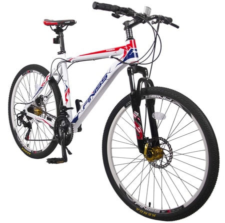 "Merax 26"" 21 Speed Hardtail Mountain Bike"