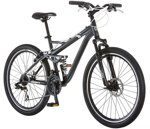 Mongoose Mens Detour Mountain Bike