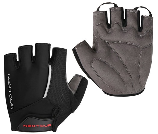 5. Tanluhu Half Finger Mountain Bike Gloves
