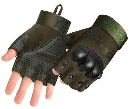 half finger mtb gloves